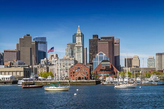 BOSTON Skyline North End & Financial District von Melanie Viola