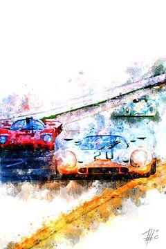 Le Mans racing van Theodor Decker