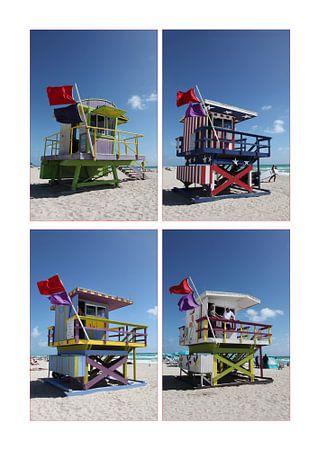 Miami Beach Lifeguard Towers
