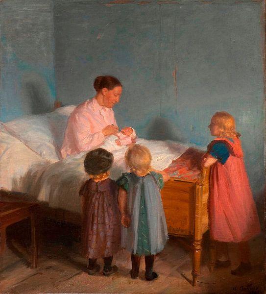 Kleiner Bruder, Anna Ancher von Meesterlijcke Meesters
