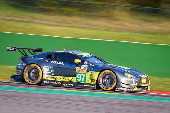 Aston Martin Racing  Aston Martin Vantage V8 race auto van Sjoerd van der Wal