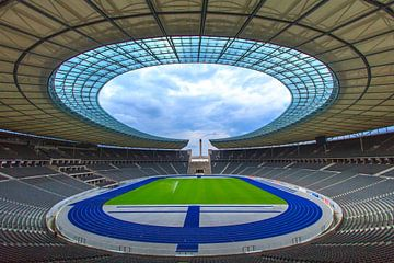 Olympiastadion Berlin Teil II von Ronald Derksen