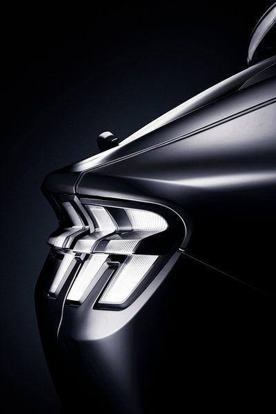 Ford Mustang Mach-E feu arrière sur Thomas Boudewijn
