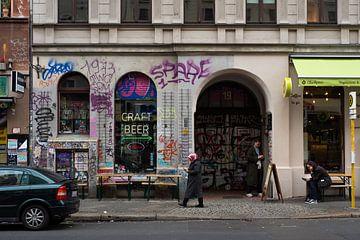 Berlin: Graffiti auf den Straßen von Lynn van Gijzel