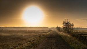 Sonnenaufgang kommt Swampholes. von Rick Ermstrang