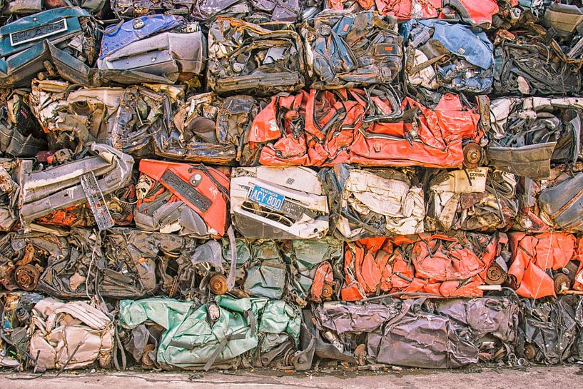 Colourfull recording of old cars von Jerome Coppo