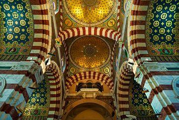 Basilika Notre Dame de la Garde in Marseille Frankreich 3
