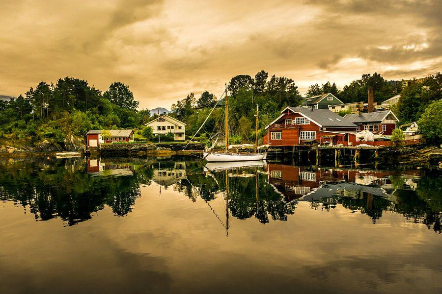Noors Landschap van Arthur Wolff