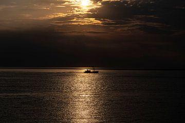 vissersboot langs de ondergang den helder van Michael Ter horst