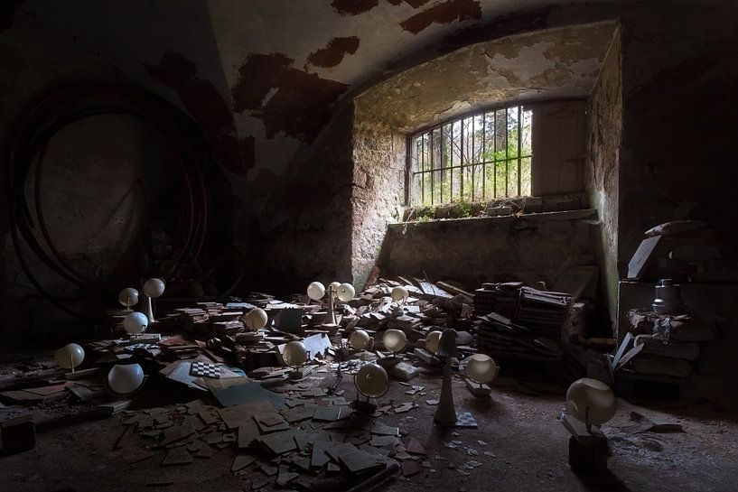 Duisternis in de Kelder. van Roman Robroek