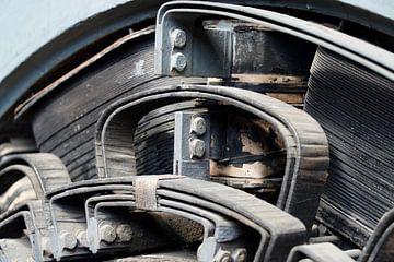 Ancien moteur électrique sur HGU Foto