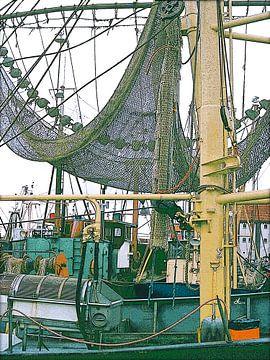 Fischkutter in Den Oever von Dirk H. Wendt