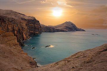 Zonsondergang op Madeira van Vincent Keizer