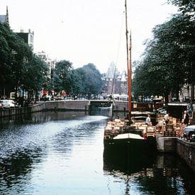 Vintage Amsterdam Nieuwmarkt 50s van Jaap Ros