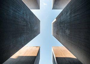 Holocaustmonument Berlijn / Denkmal für die ermordeten Juden Europas Berlin van