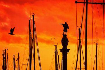 Barcelona - Columbus Monument sur Alexander Voss