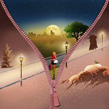 Der Wintermantel von Monika Jüngling