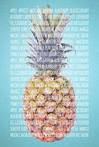 Fruities in kleur Ananas