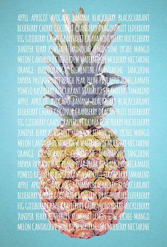 Fruities in kleur Ananas van