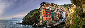 Riomaggiore - Cinque Terre van Teun Ruijters