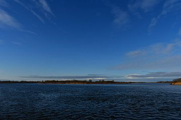 Blick auf das Lauwersmeer von Bernard van Zwol