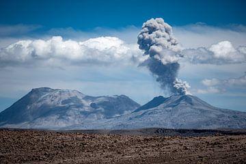 Actieve vulkaan van Eerensfotografie Renate Eerens