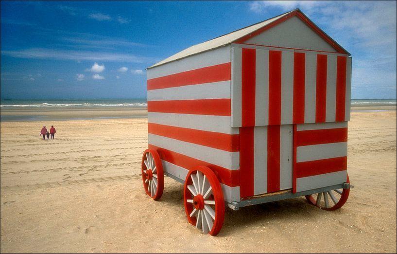 Strandhuis op wielen van Marcel van Balken