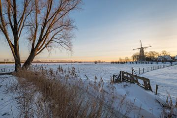 Hollands winterlandschap van Moetwil en van Dijk - Fotografie
