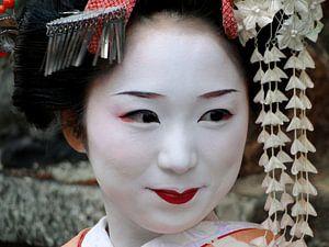 Geisha in Kyoto, Japan van