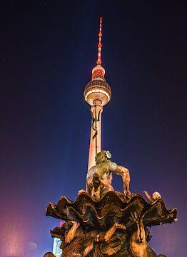Berlin Fernsehturm van Dennis Van Donzel