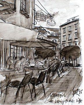 Cafe Krokodil Karlsruhe von lee eggstein
