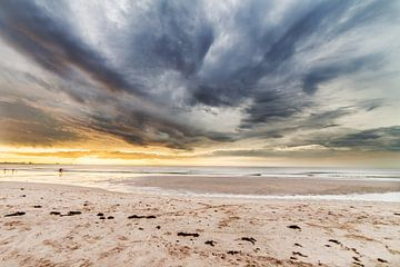 Zonsondergang op het Strand II sur Thomas van der Willik