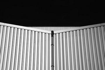 Stalen platen gebouw vormen van