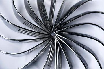 Vorken in de vorm van een zon van Christa Thieme-Krus