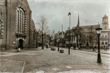 Janskerkhof in Utrecht von Jan van der Knaap