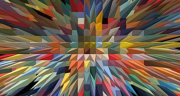 bunte Pyramiden von Marion Tenbergen