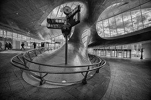 U-bocht in Arnhem Centraal van