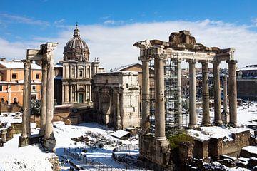 Forum Romanum in Rome sur Michel van Kooten