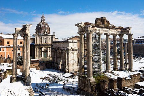 Forum Romanum in Rome van