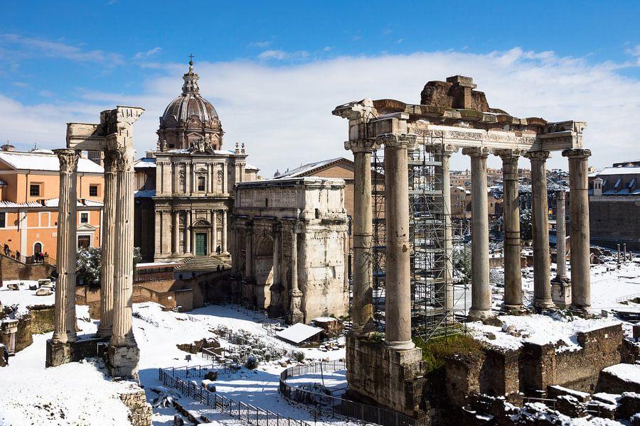 Forum Romanum in Rome van Michel van Kooten