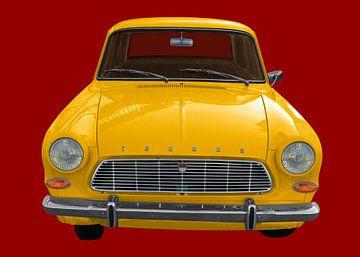 Ford Taunus 12M in het geel van aRi F. Huber