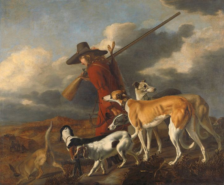 De jager, Adriaen Cornelisz Beeldemaker