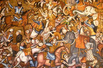 Mural Iran von Jeroen Kleiberg