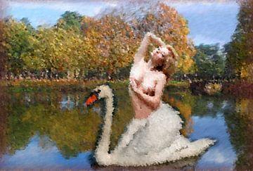 zwaan vrouw -woman - femme- Frau van aldino marsella