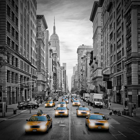 5th Avenue NYC Traffic sur Melanie Viola