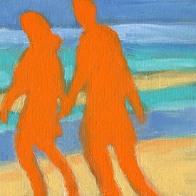 Strandwandeling van ART Eva Maria