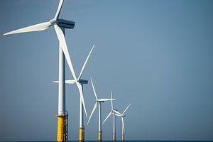 Windturbines op zee