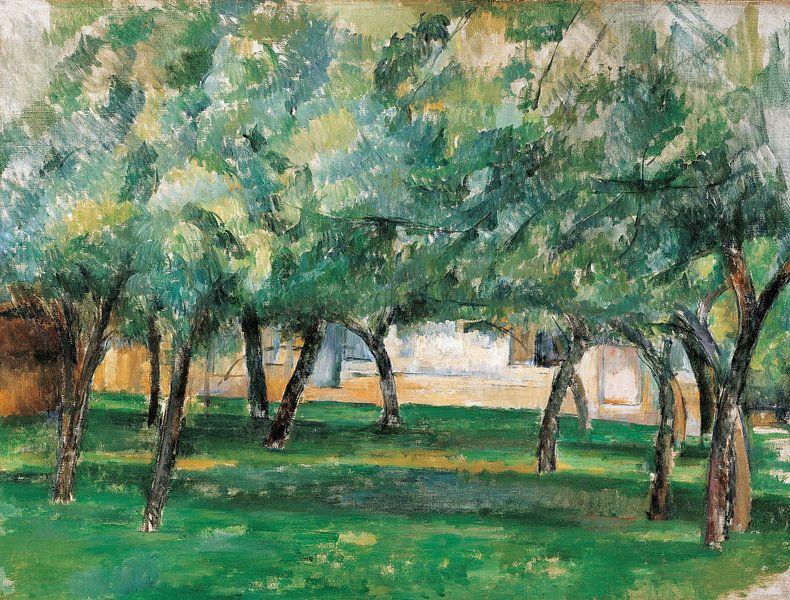 Paul Cézanne. Boerderij in Normandië van 1000 Schilderijen