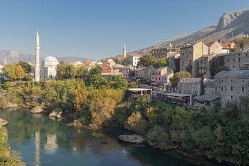 Oude stad Mostar van Nina Rotim
