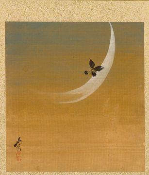 hibata Zeshin - Blatt aus dem Album mit saisonalen Themen, Maus